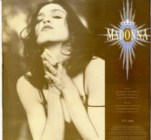 "LIKE A PRAYER - USA 12"" VINYL PROMO (PRO-A-3472)"